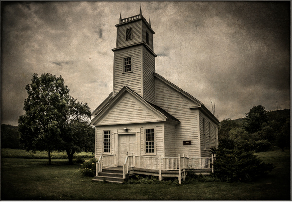 Church, NY - Upstate New York - Joanne Seador Photography