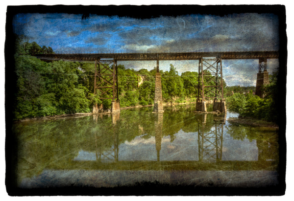 Catskill creek2_vellum - Special Processes - Joanne Seador Photography