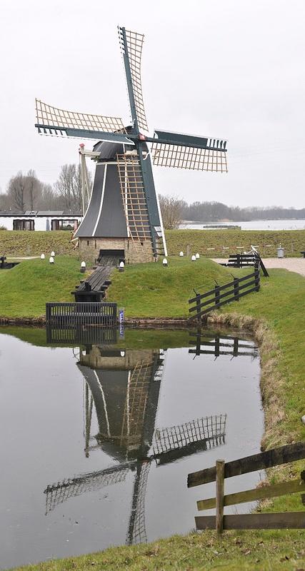 Windmill in Enkhuizen museum