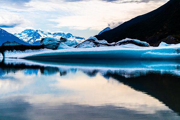 Knit Glacier, Wasilla, AK - Landscape - Jim Krueger Photography