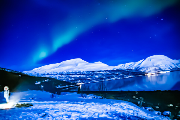 Norwegian lights - Night Photography - Jim Krueger Photography