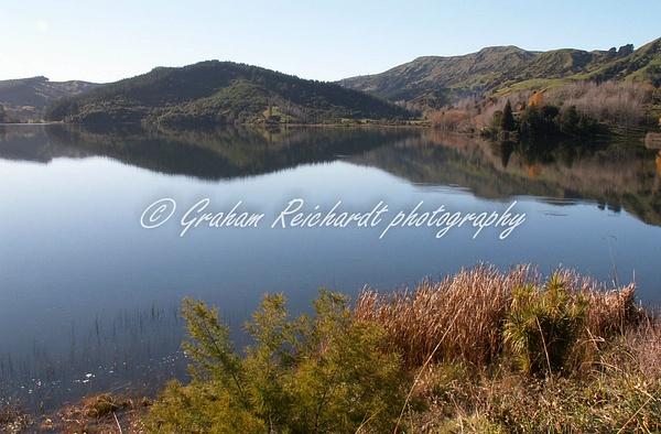 Lake Tutira-1 - NZ Scenery - Graham Reichardt Photography