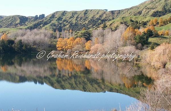 Lake Tutira-2 - NZ Scenery - Graham Reichardt Photography