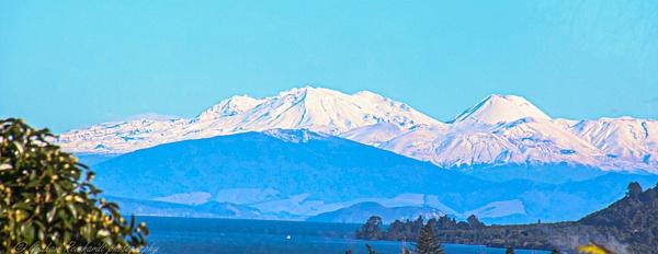 Tongariro National Park from taupo NZ 2 - NZ Scenery - Graham Reichardt Photography