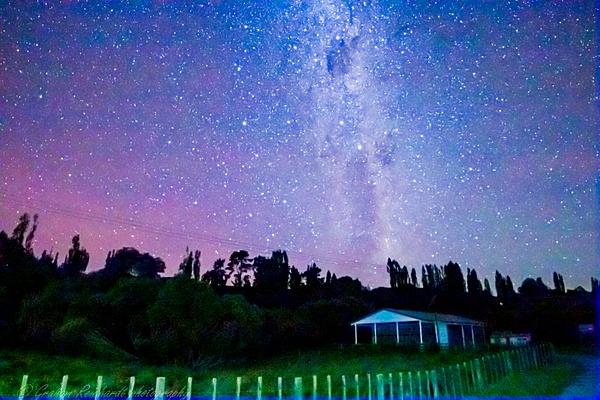 night sky on Forgotten World Highway - Night Sky - Graham Reichardt Photography