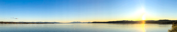 Lake Taupo sunset - Sunsets - Graham Reichardt Photography