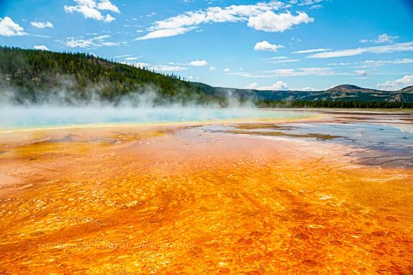 Grand prismatic Spring Yellowstone national Park - Yellowstone & Montana - Graham Reichardt Photography