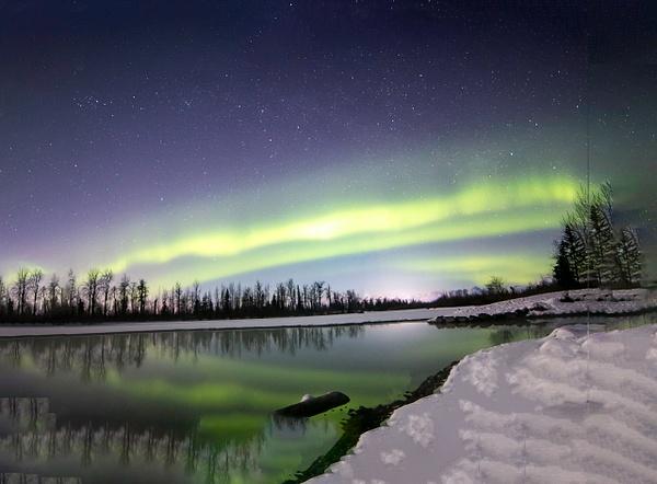 4-Aurora Borealis or Northern Lights taken in Knik River valley Anchorage - Aurora - Graham Reichardt Photography
