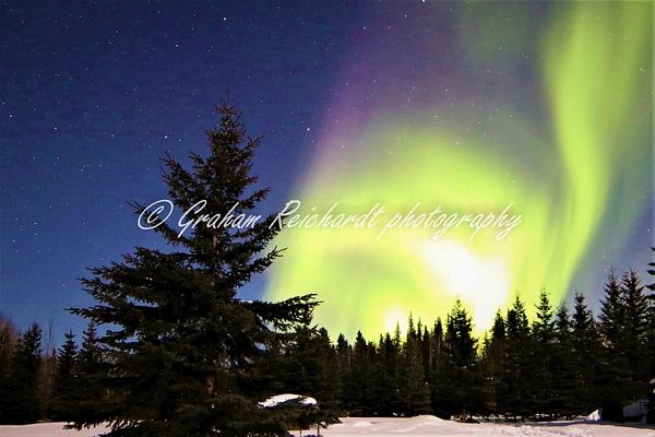 Aurora Chandlers Farm Fairbanks A4 + canvas print $65 - Shops - Graham Reichardt Photography