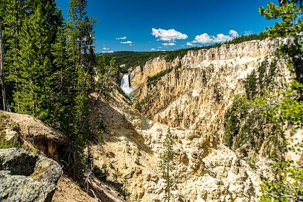 Yellowstone falls-2 Yellowstone National Park - Yellowstone & Montana - Graham Reichardt Photography