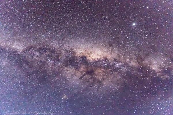 Nightsky photo taken at Tongariro National Park showing the celestial Kiwi - Night Sky - Graham Reichardt Photography
