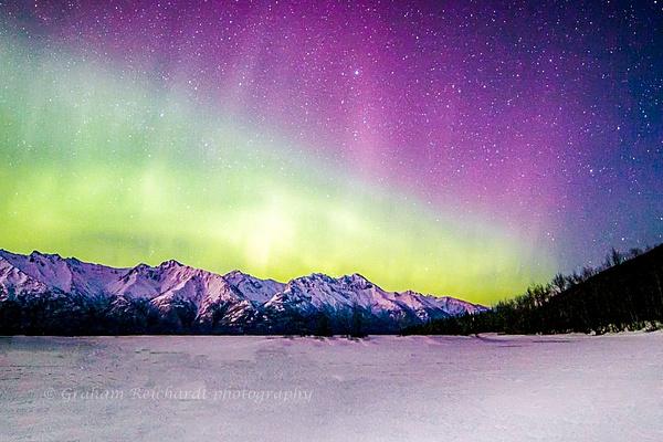 Aurora Knik River valley(1 of 1) - Aurora - Graham Reichardt Photography