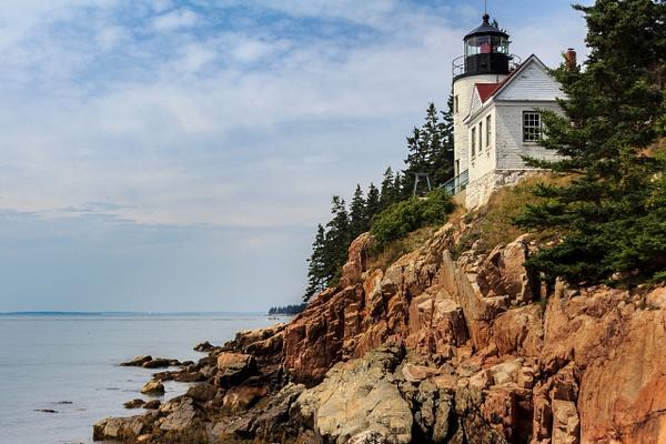 Bass Harbor Head Lighthouse by Brad Balfour