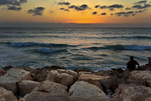 Mediterranean Sunset by Brad Balfour