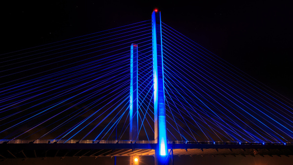 Indian River Inlet Bridge at Night - Portfolio - Brad Balfour Photography