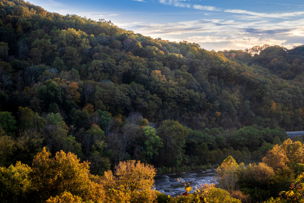 Harper's Ferry Sunset by Brad Balfour