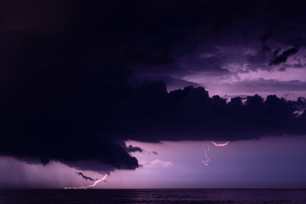 Summer Lightning Storm by Brad Balfour