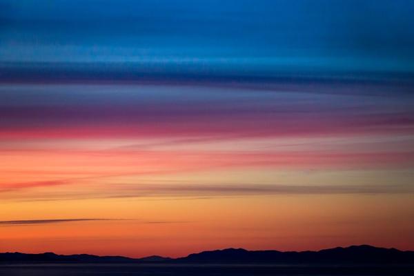 Alaskan Sunset by Brad Balfour