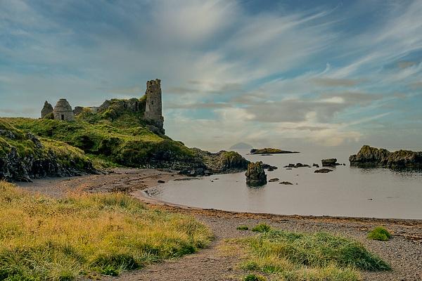 Dunure Castle - Castles and Landscapes - Ronald Bell
