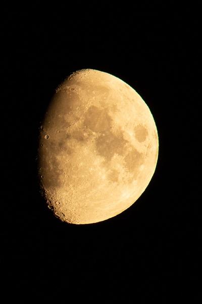 Last night's Moon-1 - Night-time - Ronald Bell