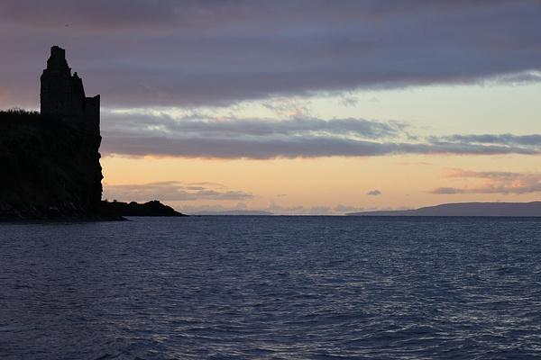 Greenan Sunset-3 - Castles and Landscapes - Ronald Bell