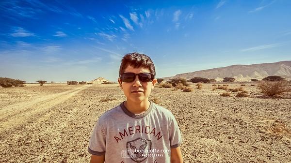 Movie Trailer kid - Portraits - Boaz Yoffe