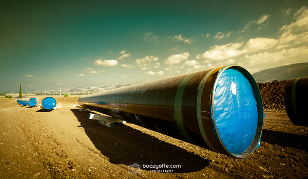Natural Gas Pipeline Works - Product - Boaz Yoffe