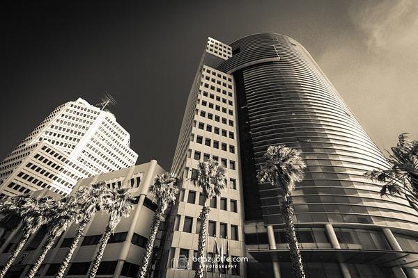 Tel Aviv  shoreline hotels 1 - Architecture - Boaz Yoffe