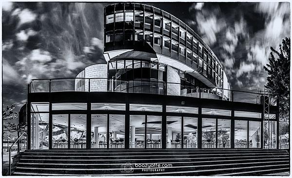 Landtag Nordrhein-Westfalen Düsseldorf DE B&W - Architecture - Boaz Yoffe