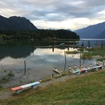 2014 Pitt Lake in July