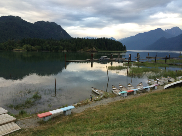 2014 Pitt Lake in July by MarcusJJ