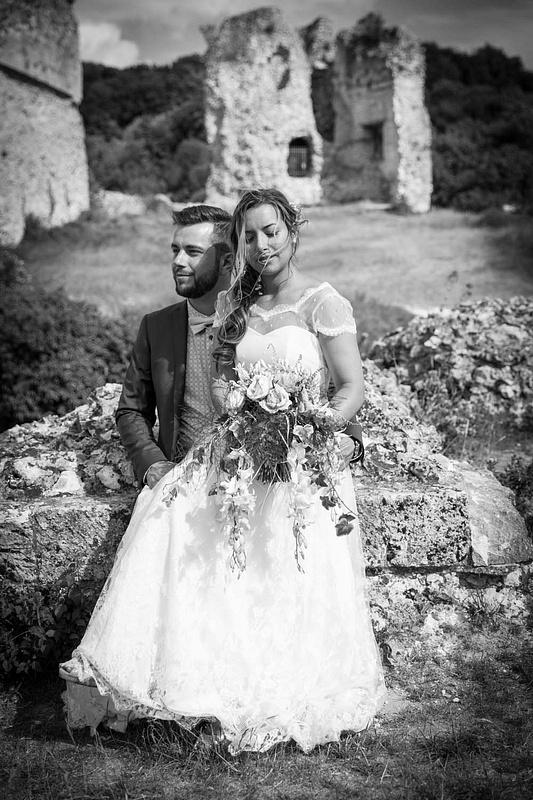 wedding-normandy-shooting couple
