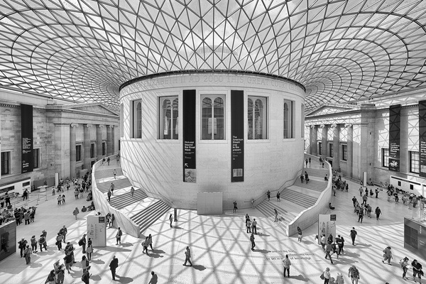British Museum - Architectural photography -Delfino photography