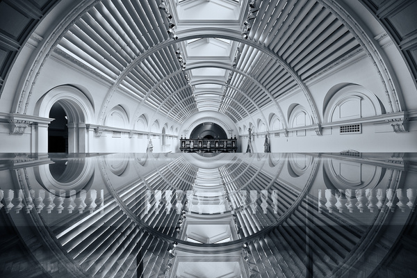 Victoria and Albert Museum - Architectural photography -Delfino photography