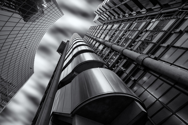 Lloyds Insurance Building - Architectural photography -Delfino photography