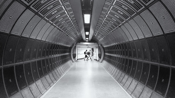 Tube Tunnel - Architectural photography -Delfino photography