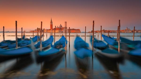 Venice Gondolas - Urban landscapes - Delfino Photography
