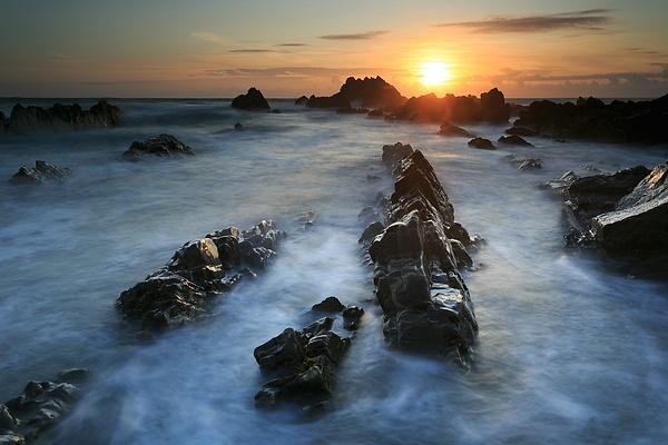 Cornwall Sandymouth Beach - Landscape photographyDelfino photography