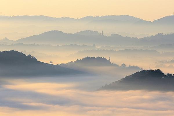 Fog Southern Styria - Landscape photographyDelfino photography
