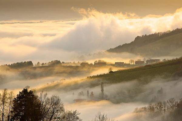Nebelmeer Kitzeck November - Landscape photographyDelfino photography