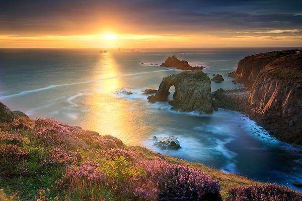 Landsend Sunset - Landscape photographyDelfino photography