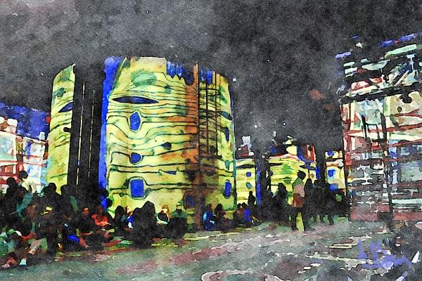 Exposition Hundertwasser by Dominique-Bruyneel