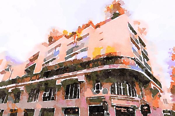 Bâtiment - Paris by Dominique-Bruyneel