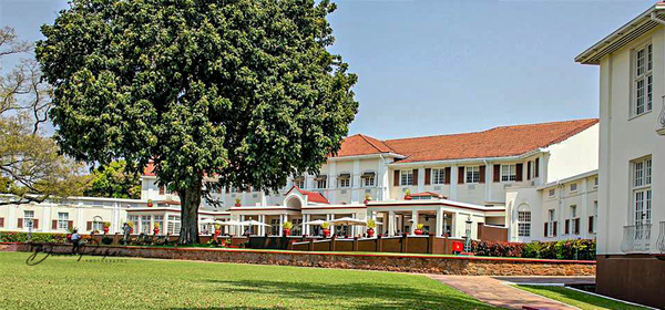 Victoria Falls Hotel by DavidParkerPhotography