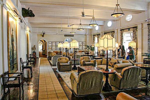 Reception, Victoria Falls Hotel by DavidParkerPhotography