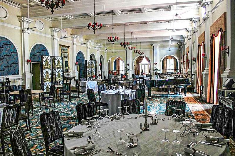 Dining Room,  Victoria Falls Hotel