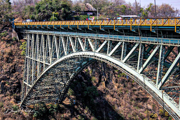 Victoria Falls Bridge by DavidParkerPhotography
