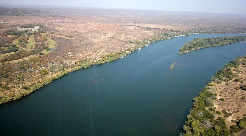 Zambezi River, above the Victoria Falls