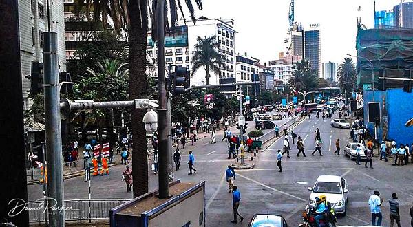 Downtown Nairobi by DavidParkerPhotography