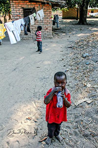 Boy Drinking by DavidParkerPhotography